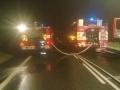 Požár nákladního auta 31. 8. 2012