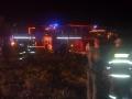 Požár stohu u Podhořan - 16. 9. 2012