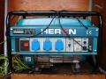 Benzínová elektrocentrála 1f, 230V, 3KV